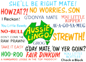 inglés en australia