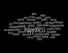 Sinónimos en inglés: felicidad