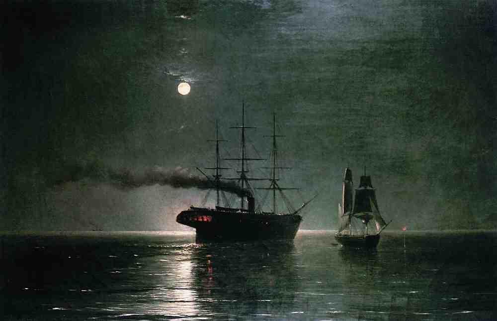 Lenguaje náutico: como barcos cruzándose por la noche