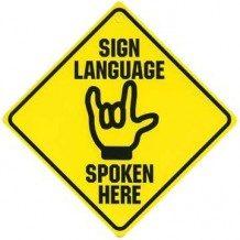 Lenguaje de signos