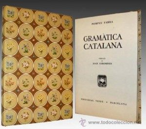 Gramática catalana: Pompeu Fabra