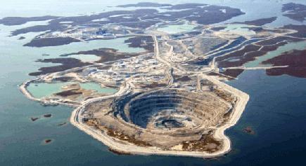 Mina De Asbestos – Canadá