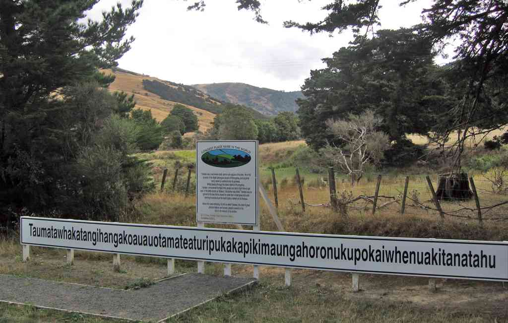 World's longest name place