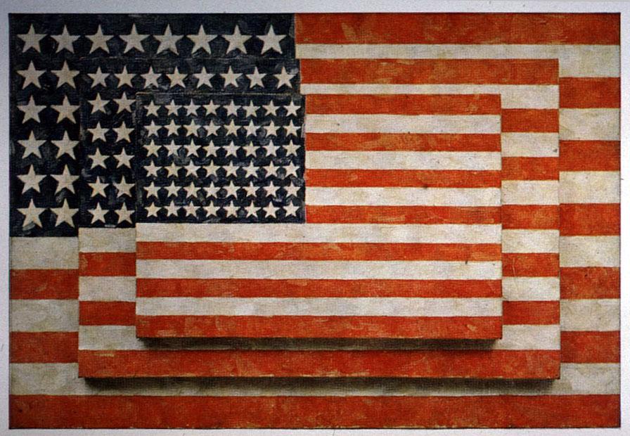banderas americanas de Jasper Johns