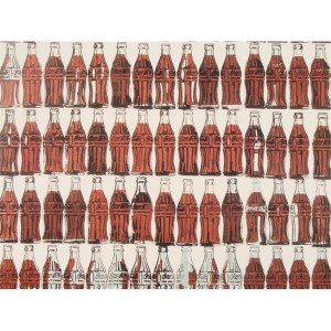 botellas de Coca Cola de Andy Warhol