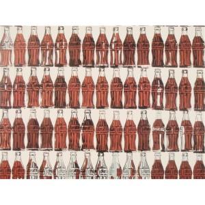 botellas de Coca Cola de Andy Warhol