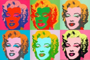 Marylin, andy warhol